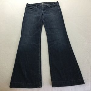 7 For All Mankind Dojo Jeans, Size 30